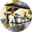 RSA Genova Casa Serena Cucina interna