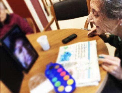 L'importanza delle videochiamate a Casa Serena