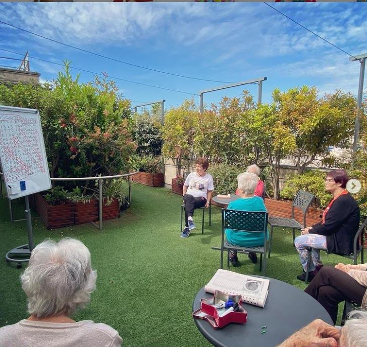 Attività e laboratori per anziani - Casa Serena
