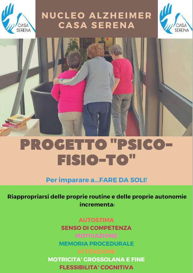 Nucleo Alzheimer Casa Serena Genova